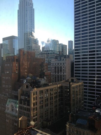 Cassa Hotel 45th Street New York: Vue de la chambre (de jour)