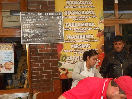 Barbacoa Santiago: Precios de la barbacoa