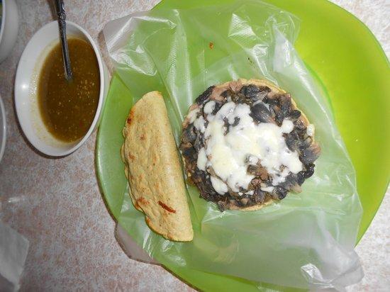 Barbacoa Santiago: Sope de Huitlacoche, super recomendable