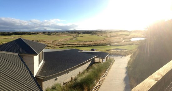 Lost Farm Barnbougle Golf Course:                   View from Lost Farm Accommodation