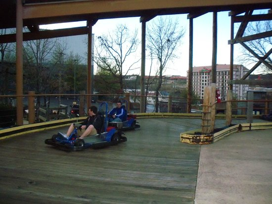 The Track Family Fun Parks : The Wild Woody Track is our family favorite.