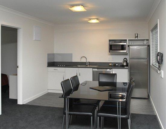 Matamata Central Motel : Kitchen Area