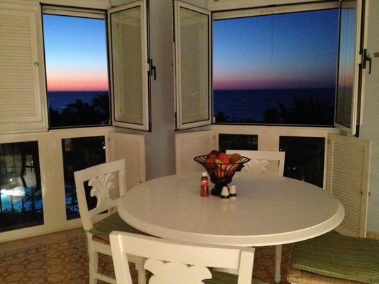 Pueblo Bonito Emerald Bay: Gorgeous sunset from the dining room