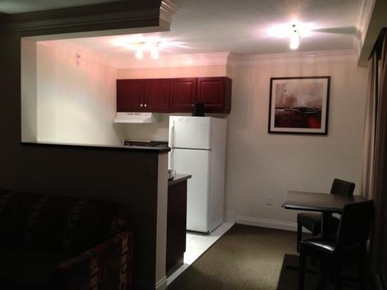 Century Plaza Hotel & Spa:                   cucina della suite