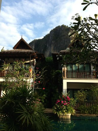 Railay Village Resort:                   Resort