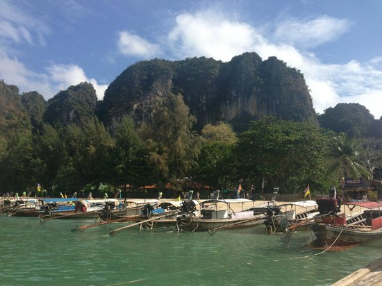 Railay Village Resort:                   Railay during the day