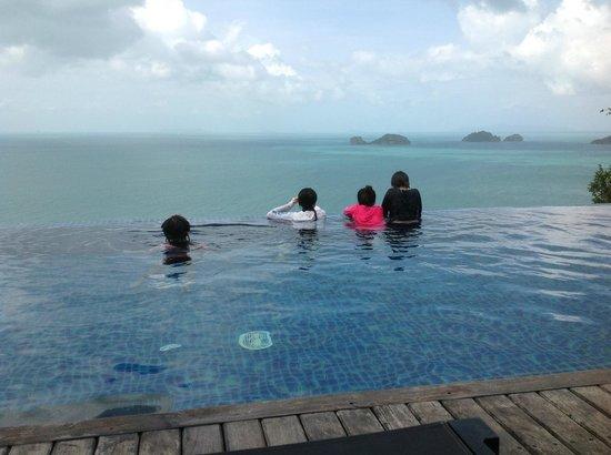 คอนราดเกาะสมุยรีสอร์ทแอนด์สปา:                   プライベートプール
