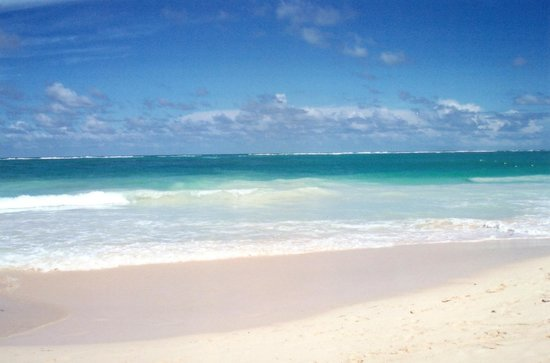 Paradisus Punta Cana:                   Beautiful beach