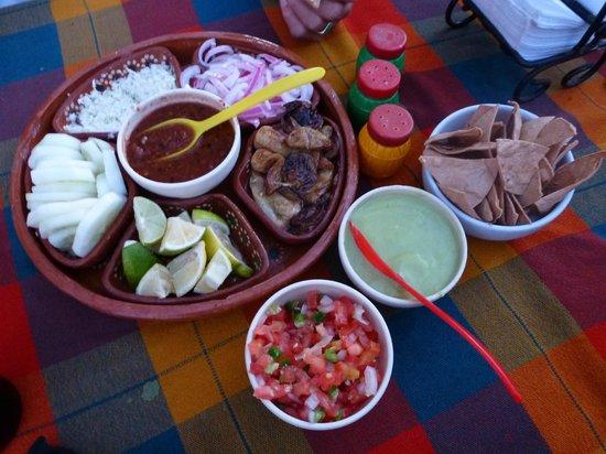 Rancho Viejo:                   condiments