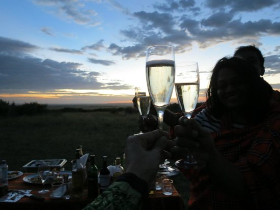 Olare Mara Kempinski Masai Mara:                   Surprise picnic atop Mara hill