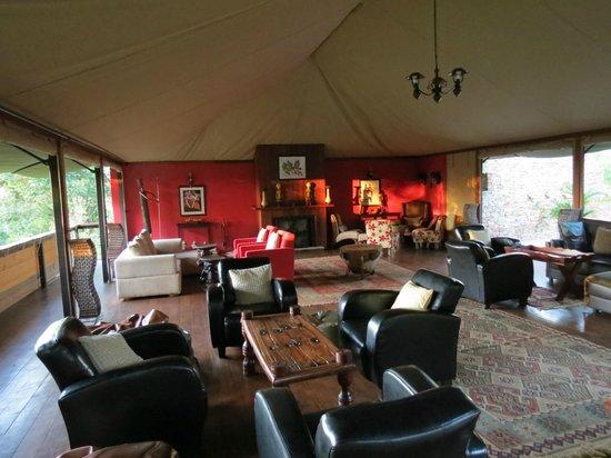 Olare Mara Kempinski Masai Mara:                   lounge