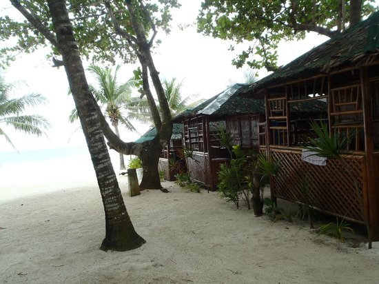 Dumaluan Beach Resort:                   Almost beach front