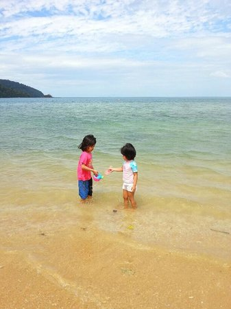 The Andaman, A Luxury Collection Resort:                   clean beach