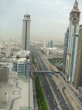 Four Points by Sheraton Sheikh Zayed Road, Dubai: From the terrace