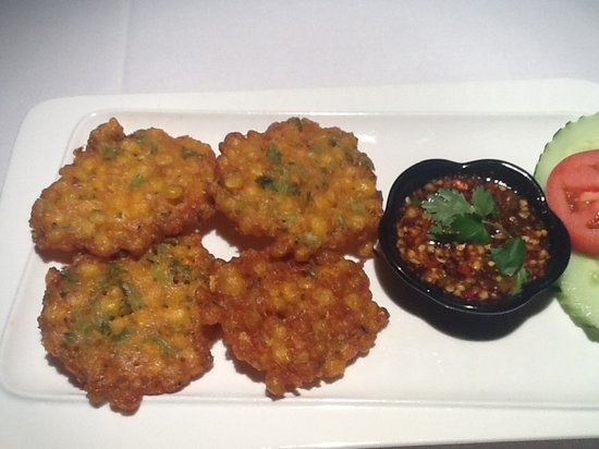 Little Thai Fine Dining: Crispy Sweet Corn
