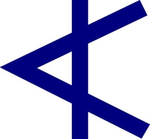 Chalet Aconites: Alph Ski Logo