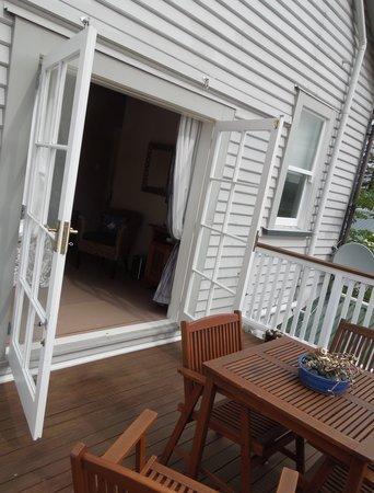 Manor on Parade : The balcony of room no.3