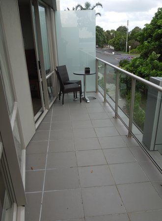 Auckland Takapuna Oaks: Our balcony