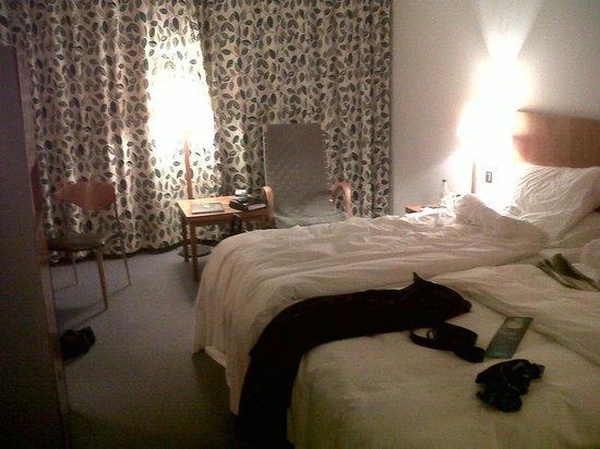 Radisson Blu Hotel, Manchester Airport:                   My room
