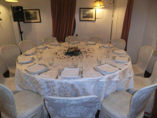 Ristorante Andrea: Il nostro tavolo