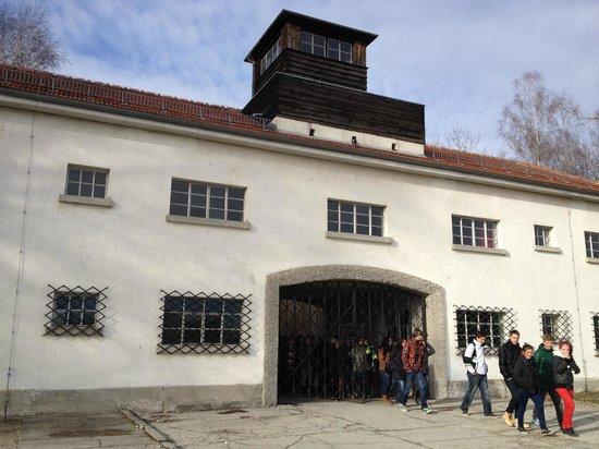 Dachau Concentration Camp Memorial Site:                   Entrance of camp