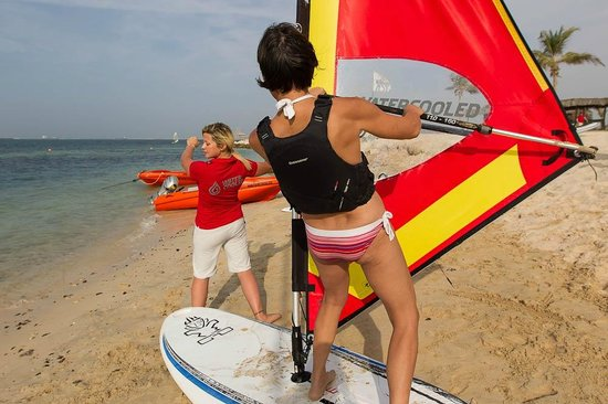 Watercooled: windsurf lessons