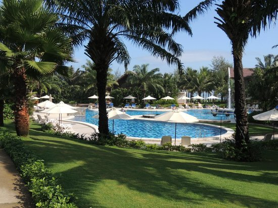 Palm Garden Beach Resort & Spa:                   View of the pool area