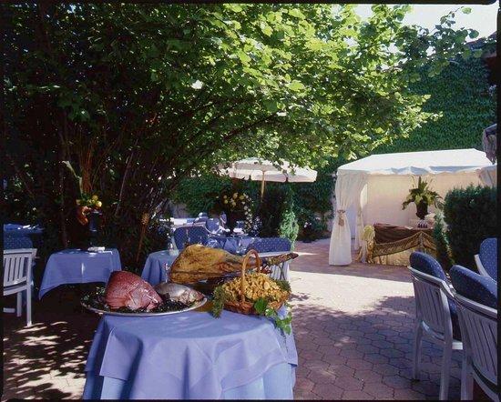 Au Soldat de l'An 2 Hotel Restaurant de charme: Jardin