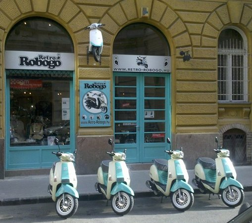 Budapest Scooter Tour