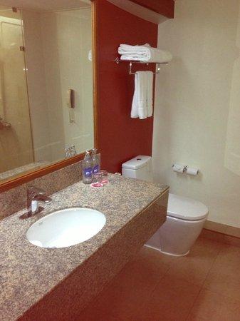 Amari Don Muang Airport Bangkok:                   Hotel Bathroom -- before the flood!                 