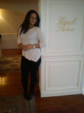 Kupeli Palace Hotel:                   iste hotelde cekindigim foto ;)