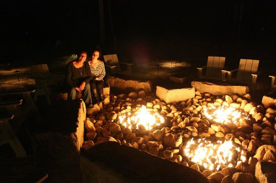 Harbor Hotel Provincetown: Fire pits