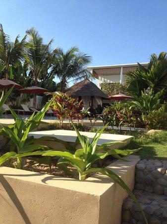 Villa Aria Muine:                   фото с лежака