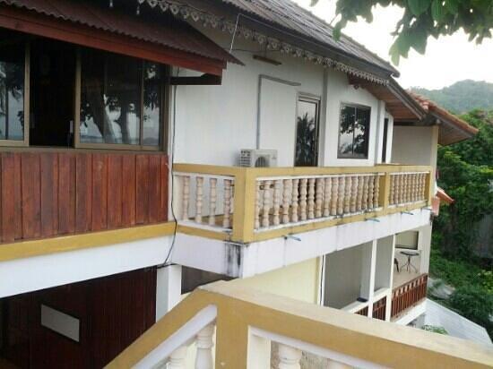 Hi Coral Cove Bungalow:                   balkon