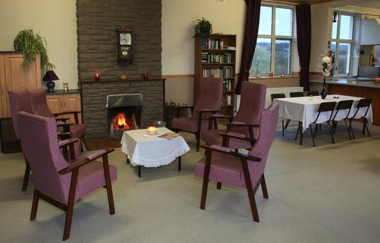 Kiltyclogher Holiday Centre: Community Area with Catering Facilities.