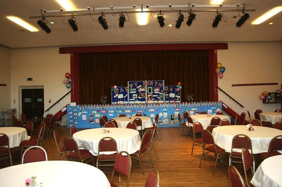 Kiltyclogher Holiday Centre: Hall available for any type of entertainment or family function.