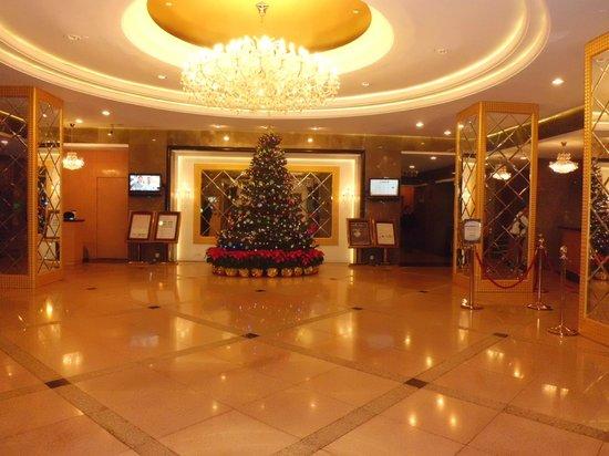 แกรนด์ เมโทร พาร์ค โฮเต็ล ซีอาน: Hotel Lobby Reception Area