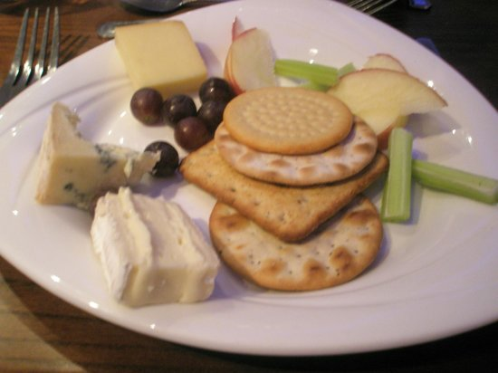 The Esplanade Hotel:                   Cheese & Biscuits available evening meal