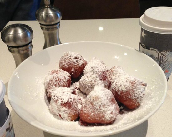 Hyatt Centric French Quarter New Orleans:                   Beignets at Powdered Sugar