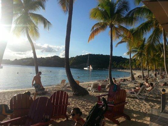 Club Med La Caravelle:                   la plage - la vue