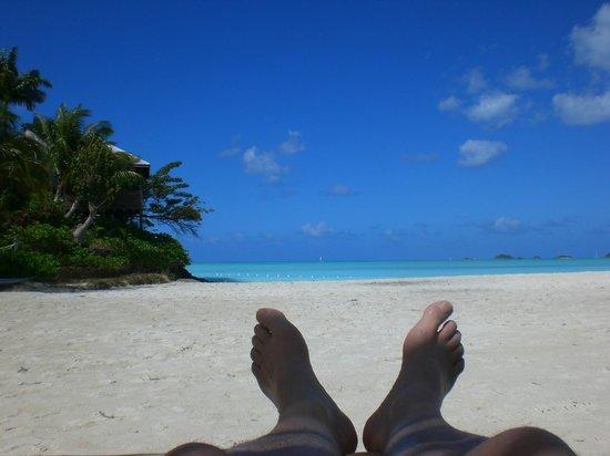 COCOS Hotel Antigua:                   Feet up in paradise