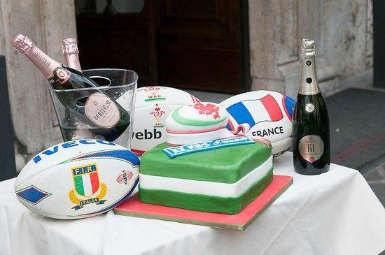 Hotel Alexandra: RBS 6 Nations: Italy vs France - feat. Berlucchi