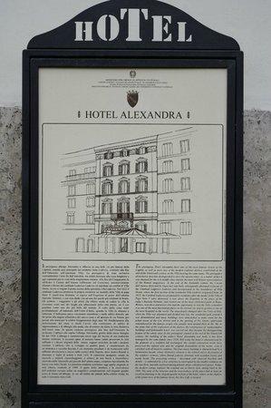 Hotel Alexandra: Hotel History