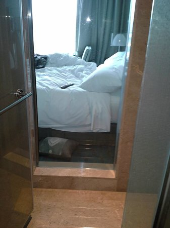 Renaissance Istanbul Bosphorus Hotel:                   First room's window in between shower and bedroom