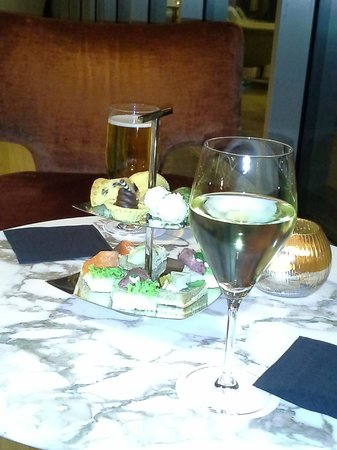 "Renaissance Istanbul Polat Bosphorus Hotel:                   Our two ""drinks"" and the snacks in lieu of no executive lounge"