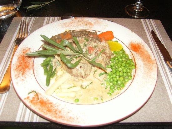 Bistro des Arènes :                   Appetissant plat au canard