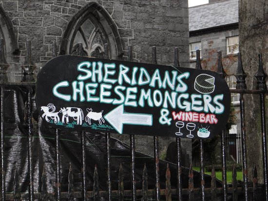 Sheridans Cheesemongers: Pointing the way