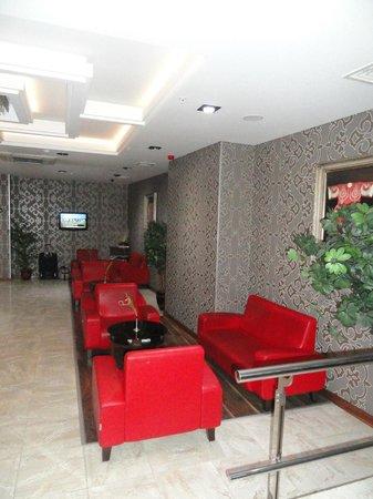 Hotel Istanbul Trend:                   lobby