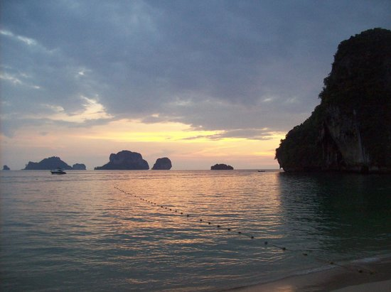 Rayavadee Resort:                   sunset