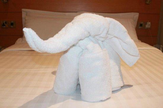 Waterside Hotel : Towel Elephant